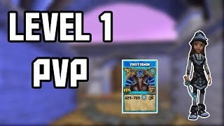 THIS IS INSANE | Wizard101 Lvl 1 PVP