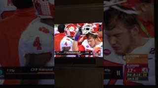 Bama vs Clemson- ref cheats