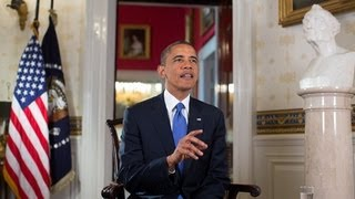 Weekly Address: Time for Congress to Pass Commonsense Immigration Reform  6/22/13