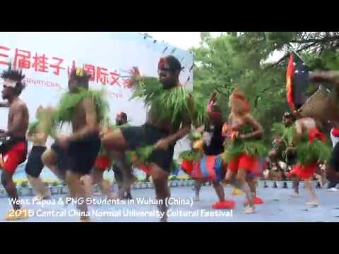 West Papua and PNG Unite in China for Cultural Dance 2015 (Part 2 - Iwalingoto by Junior Insects)