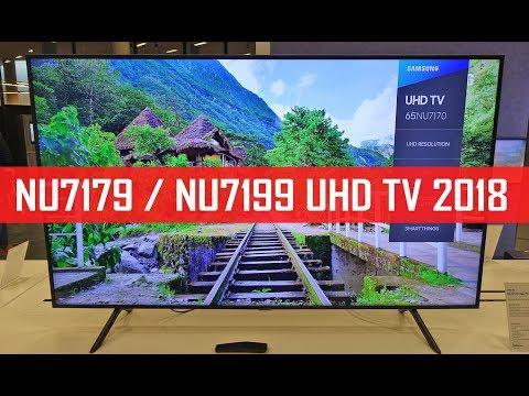 NU7179 / NU7199: 4K Einsteiger-Fernseher mit HDR10+ (Samsung Roadshow)