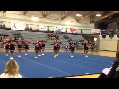 Escanaba middle school cheer