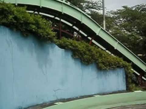 東山動植物園の遊園地、スロープシューター