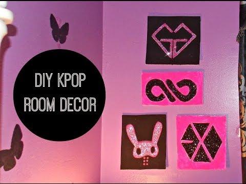 Kpop DIY Room Decor