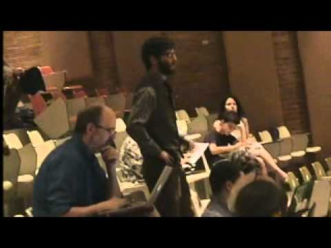 ACTIVIST SPEAKS OUT AT  MARCELLUS SHALE SAFE DRILLING ADVISORY COMMISSION MEETING JULY 11th 2014