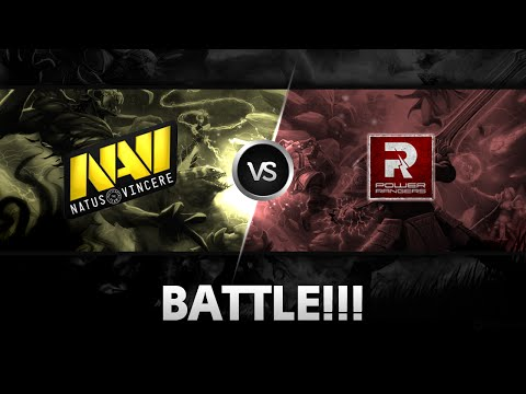 Team fight around Roshan's pit by Na'Vi vs Power Rangers @D2 Champions League S4