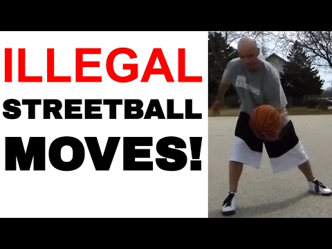 What Streetball Moves Are Illegal in Basketball? What's a Carry? A Double Dribble? | Ask Snake