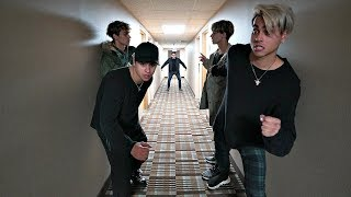 WE WENT INTO A SPOOKY HOTEL!