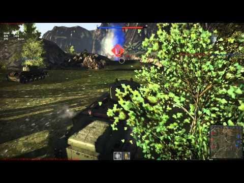 War Thunder Ground forces CBT - T-28 - Realistic Battles