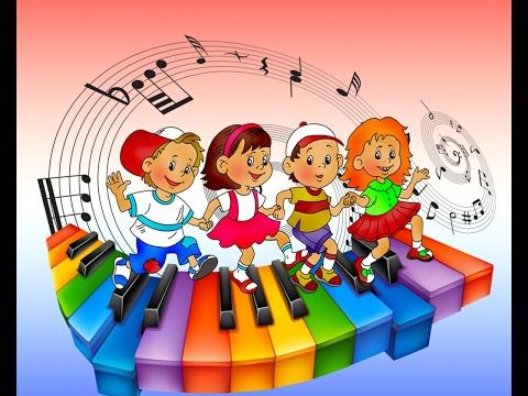 Отрывок из дня в детском саду (урок музыки)