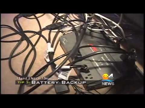 CBS 4 News visits Nationwide Data Recovery