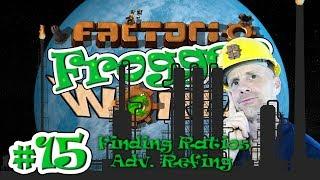 FACTORIO 0.15 ADVANCED OIL PROCESSING & CRACKING TUTORIAL | Frogger World Ep. 15