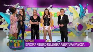 Isadora Ribeiro e Rogéria fazem reinvenção de abertura do Fantástico