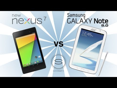 New Nexus 7 (2) vs Samsung Galaxy Note 8.0