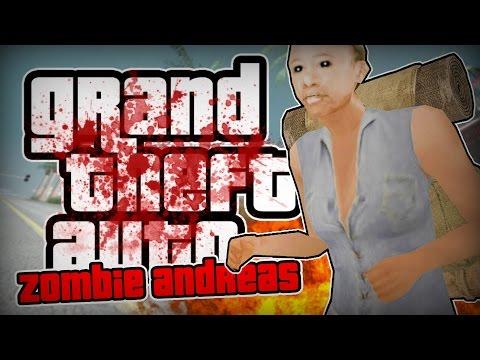 Zombie Andreas -  ЭТО БЕЗУМНЫЙ РЕЖИМ! СПАСЛИСЬ?!