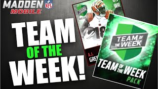 TEAM OF THE WEEK PACKS! Madden Mobile 17