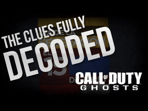 Call of Duty: Ghosts - BASIC PLOT EVENT OUTLINE - SITE HINTS FULLY DECODED
