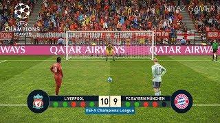 LIVERPOOL vs BAYERN MUNICH | UEFA Champions League - UCL | Penalty Shootout | PES 2019