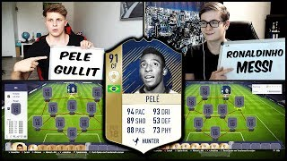 FIFA 18 - 91 ICON PELE SQUAD BUILDER BATTLE vs. REALFIFA! ⚽💎🔥 Ultimate Team Deutsch
