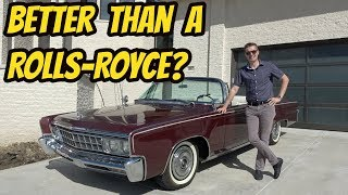 I Bought the Greatest Luxury Car of 1966: The Imperial Crown Convertible by Chrysler