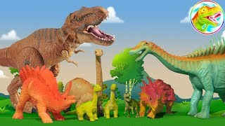 🐉 Play toys with baby love grow 🐉 ToyTV 🐉 Dinosaurs tyrants 🐉