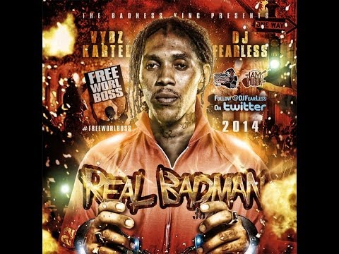 Vybz Kartel - Real Badman Mixtape 2014 video