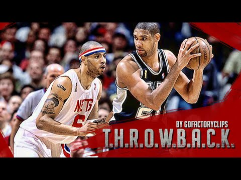 Throwback: Tim Duncan vs Kenyon Martin Full Series Duel Highlights (2003 NBA Finals G1), SICK!