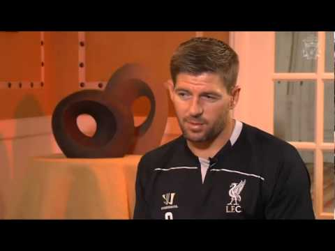 "Steven Gerrard Full Exclusive Interview ""I want to win a trophy"""