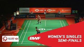 SF   WS   Ratchanok INTANON (THA) [6] vs GOH Jin Wei (MAS)   BWF 2019