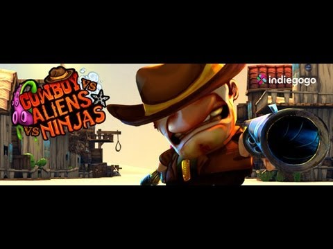 Cowboy Vs Aliens Vs Ninjas - Trailer (indiegogo Campaign) video