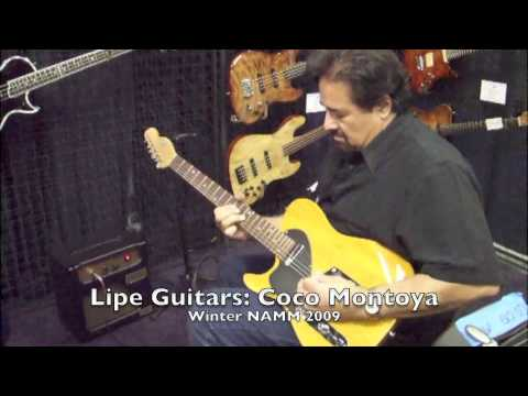 Coco Montoya @ Lipe Guitars USA (Winter NAMM 2009)