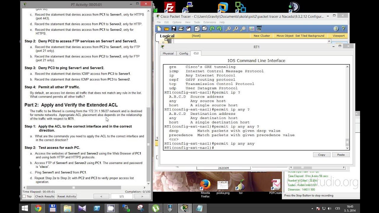 Смотреть онлайн видео CCNA 2 Packet Tracer Activity 9.3.2.12 solution.