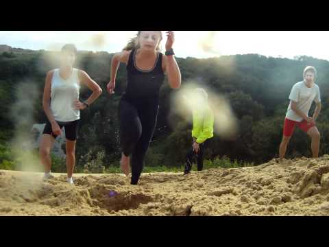 Duel in the dunes - Athletics East workout 2011