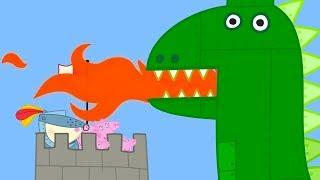 Peppa Wutz 🏰 Die Ritterburg!    Peppa Pig Deutsch Neue Folgen   Cartoons für Kinder