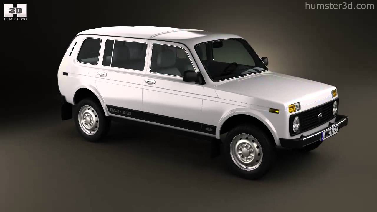 Lada Niva 4x4 2131 2012 By 3d Model Store Humster3d Com