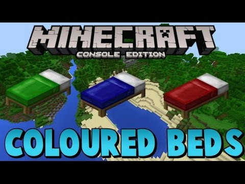 Minecraft Xbox 360 / PS4 New Dyed beds information andrelase date prediction