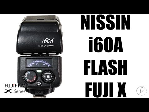 Nissin i60A Flash for Fujifilm X Series Review and Test Shots