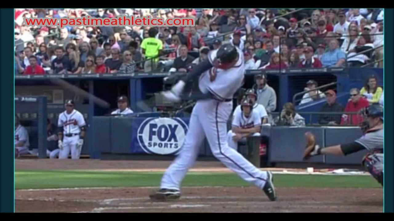 Slow Motion Baseball Swing >> Freddie Freeman Slow Motion Home Run Baseball Swing - Hitting Mechanics Instruction Braves MLB ...