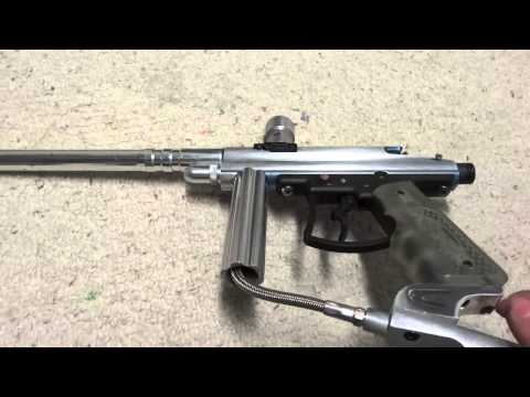 Custom Viewloader Orion Paintball Gun