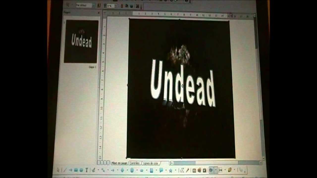 Tuto comment creer un logo avec open office youtube - Comment creer un diaporama avec open office ...