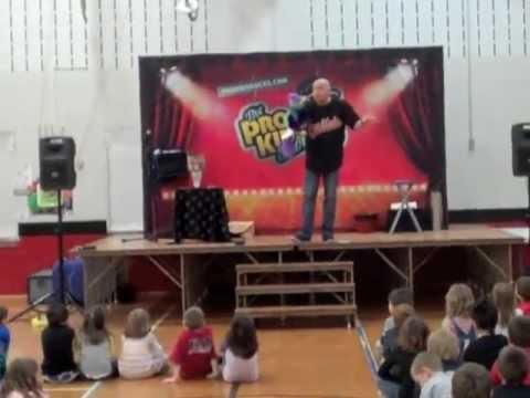 Tim Hannig Pro Kids at Spooner Elementary School