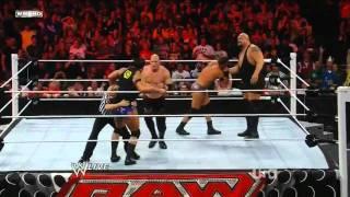 WWE RAW: The New Nexus vs Kane & Big Show