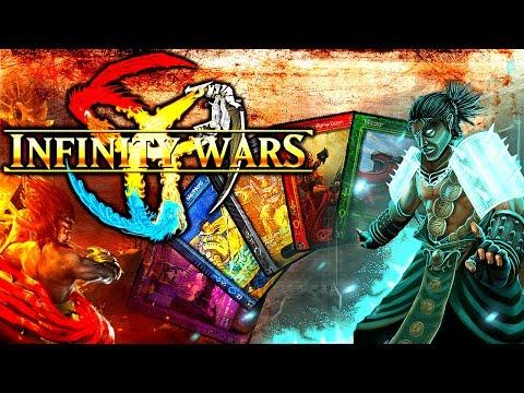A VOIR ! Présentation Infinity Wars - Jeu de cartes ( trading card game ) [FR][HD]