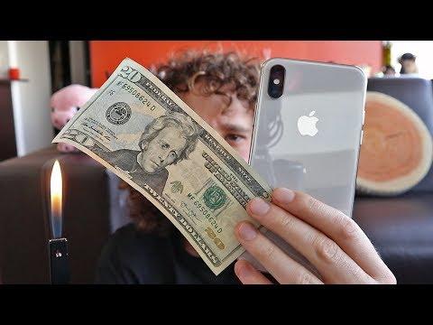 ¿Es mejor comprar un iPhone X o quemar tu dinero?