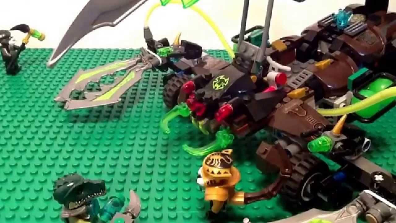 Lego Chima Scorpion King Chima Episode 11 Scorpion King