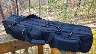 Ultimate Bank Fishing Bug-Out Bag - 3 Rod / Reels, Landing Net, Alarms, Rod holders