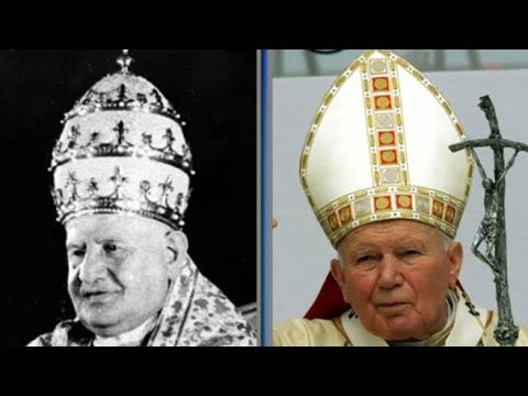 Two Popes to Be Canonized as Saints