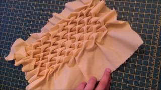 How To Do Smocking Beautiful Design Arrowhead By Rose