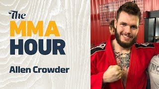 Allen Crowder Discusses Greg Hardy Fight At UFC Brooklyn, Blames Illegal Knee To 'Inexperience'