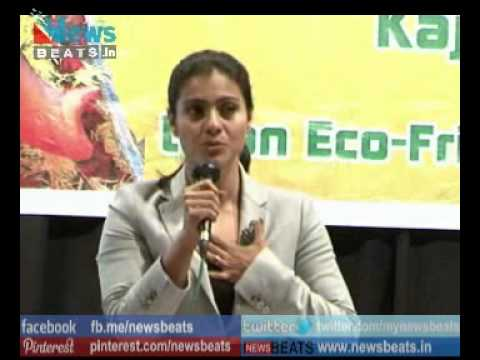 Kajol Devgan Supports ECO friendly Ganesh in Mumbai